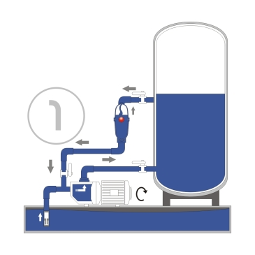 Alimentatore automatico d aria per autoclave aria sfiato for Schema autoclave a cuscino d aria